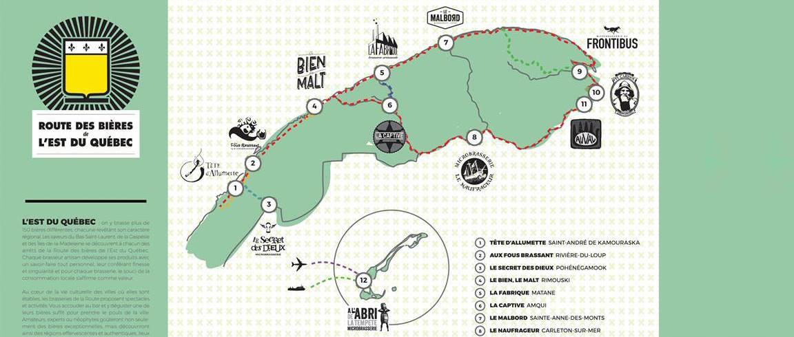Route des bières de lESt