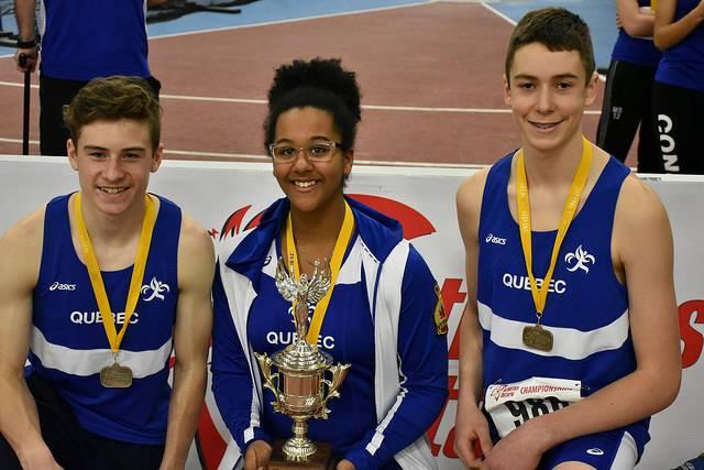 3 athlètes