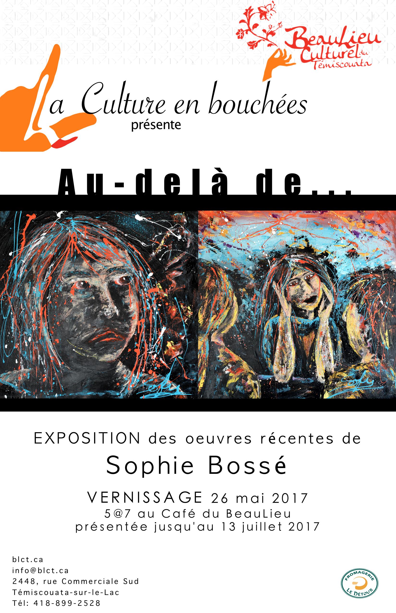Affiche Sophie Bosse