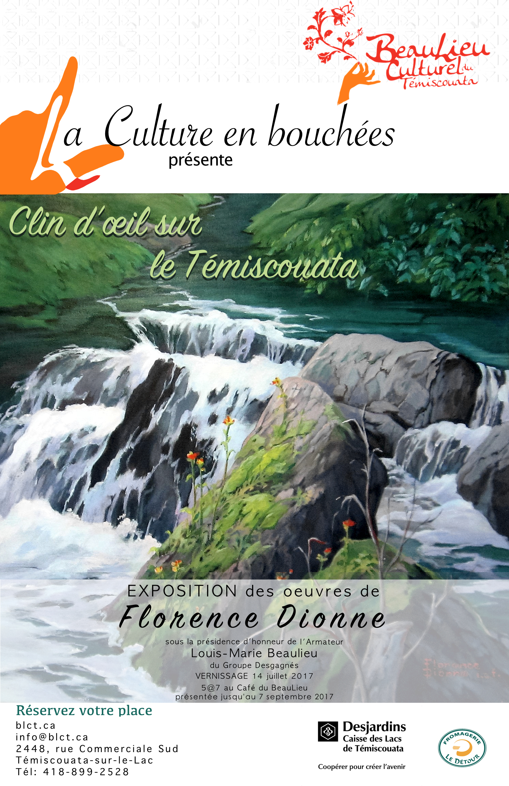 Affiche Florence Dionne