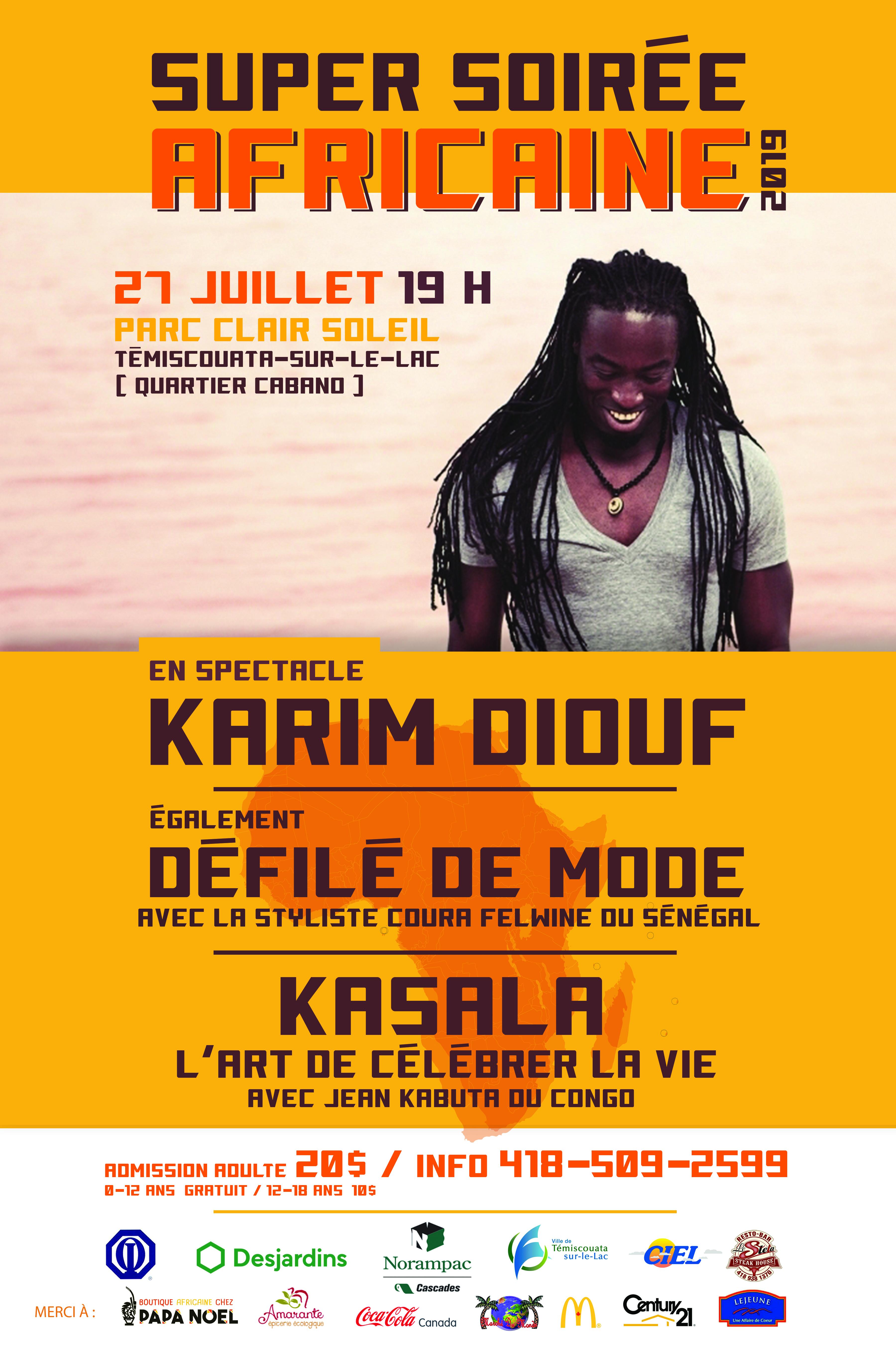 Affiche KarimDiouf 27juillet2019