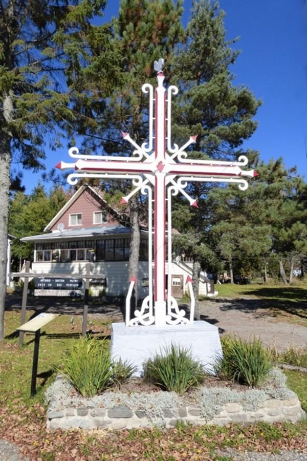 Croix de chemin Saint Athanase BR